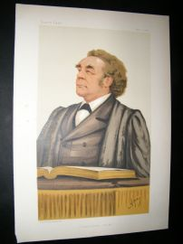 Vanity Fair Print: 1884 Rev. Joseph Parker, Clergy